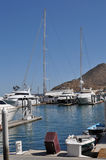 Boats in Harbor, Cabo San Lucas Royalty Free Stock Photography