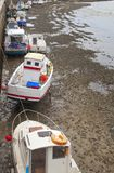 Boats in harbor of Saint Gilles Croix de Vie, Vendee in France Royalty Free Stock Image