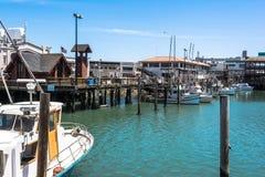 Boats in the harbor, San Francisco Stock Photos