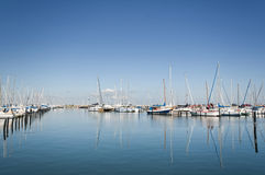 Boats at Harbor Royalty Free Stock Photography