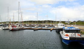 Boats in the harbour Royalty Free Stock Photography