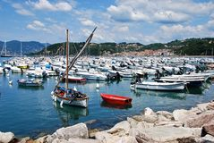 Harbour of Lerici Royalty Free Stock Photos