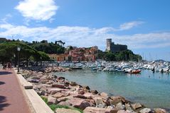 Harbour of Lerici Royalty Free Stock Image