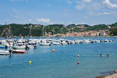 Harbour of Lerici Royalty Free Stock Photo