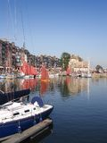 Boats at Honfleur Royalty Free Stock Image