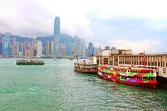 Boats in Hong Kong Stock Images