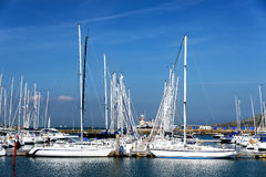 Boats at Howth Dublin Ireland Royalty Free Stock Photography