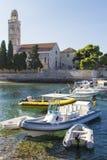 Boats at Hvar island in Croatia Stock Image