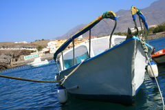 Boats In Canary Islands Royalty Free Stock Photography