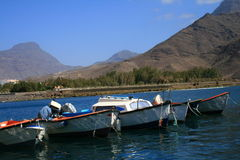 Boats In Canary Islands Stock Photography