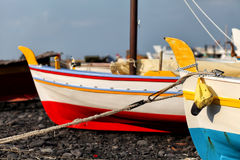 Boats In Sicily Stock Image