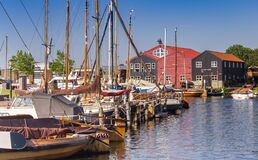 Free Boats In The Harbor Of Elburg Royalty Free Stock Image - 215065136
