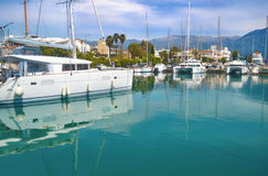 Boats at Kalamata Peloponnese Greece Royalty Free Stock Photo