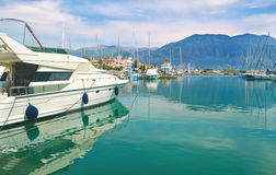 Boats at Kalamata Peloponnese Greece Stock Photo