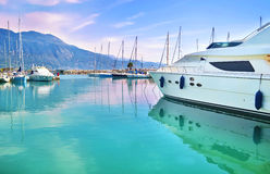Boats at Kalamata Peloponnese Greece Royalty Free Stock Photography