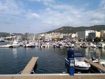 Kavala port royalty free stock photos