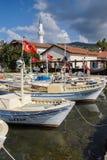 Boats in Kekove  harbor Stock Photography