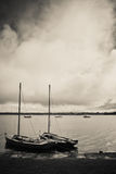 Boats of Kinvara Royalty Free Stock Photography