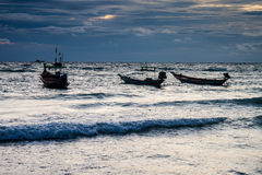 Boats at Ko Tao island Stock Photography