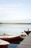Boats at lake Royalty Free Stock Photography