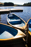 Boats on lake Royalty Free Stock Photography