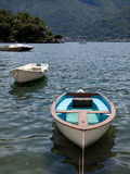 Boats on Lake Como Royalty Free Stock Image