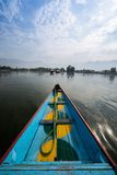 Boats in Lake Dal Kashmir Royalty Free Stock Photos