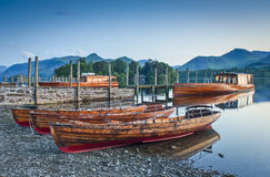 Boats, Lake District, Cumbria, UK Royalty Free Stock Images