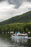 Boats on a lake in England. Stock Photo