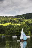 Boats on a lake in England. Stock Photography