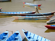 Boats on Lake Fewa Royalty Free Stock Image