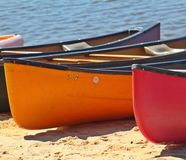 Boats on the Lake. Royalty Free Stock Photos