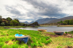 Boats on lake in Killarney Royalty Free Stock Photos