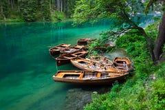 Boats at the lake Royalty Free Stock Image