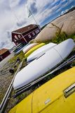 Boats on Land Royalty Free Stock Photos