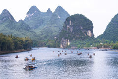 Free Boats Li-River China Stock Photo - 43366150
