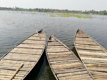 Boats of living hopes. Many of people are living depend on these. Its just natural and beauty Royalty Free Stock Images