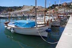 Boats in Mallorca, Spain royalty free stock photo