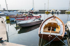 boats many Royaltyfria Bilder