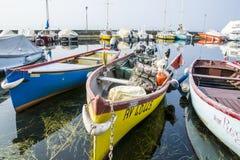 boats many Arkivfoton