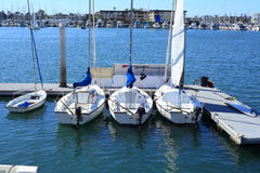 Boats in the Marina Royalty Free Stock Photography