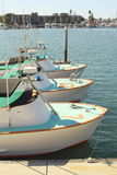 Boats in the Marina Stock Photography