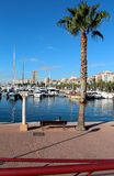 Boats in the Marina, Alicante, Spain Royalty Free Stock Image