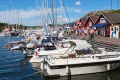 Boats in a marina Stock Photos