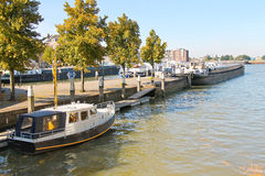 Boats at the marina in Dordrecht, Netherlands Stock Photography