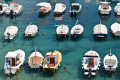 Boats in Marina of Dubrovnik Stock Photography