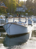 Boats in marina. Royalty Free Stock Photography