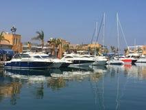 Boats in the Marina royalty free stock photo