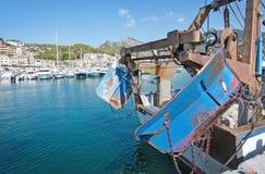 Boats in the marina Stock Photo