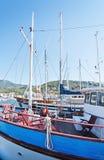 Boats in the marina Stock Photography